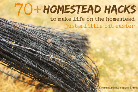 70 homestead hacks