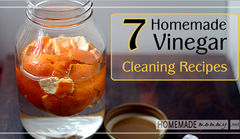 Homemade Vinegar Cleaning Recipes