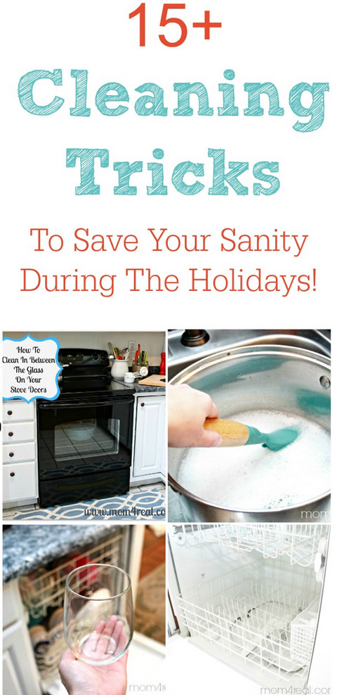 Cleaning Tricks To Save Your Sanity