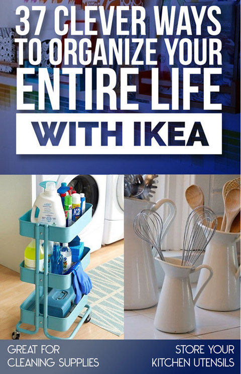 Organize Your Entire Life With Ikea