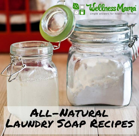 Natural Laundry Soap Recipes
