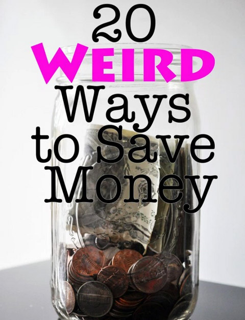 weird ways to save