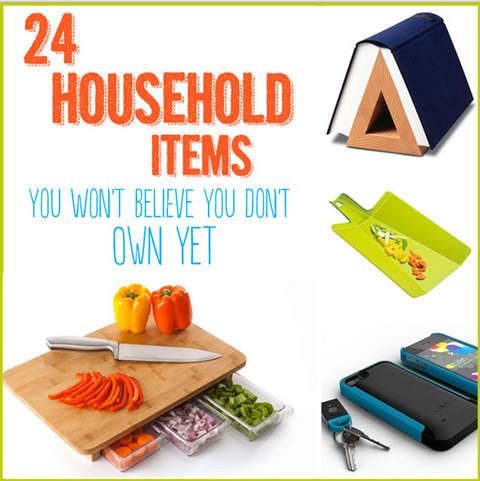 24 Household Items