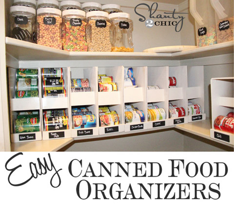 Organize your canned food