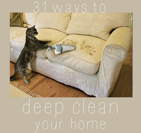 Seriously Deep Clean Your Home