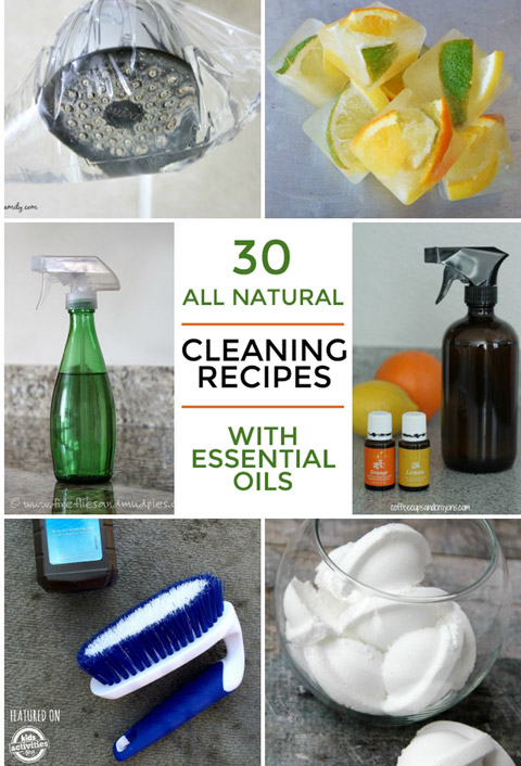 cleaning recipes using essential oils