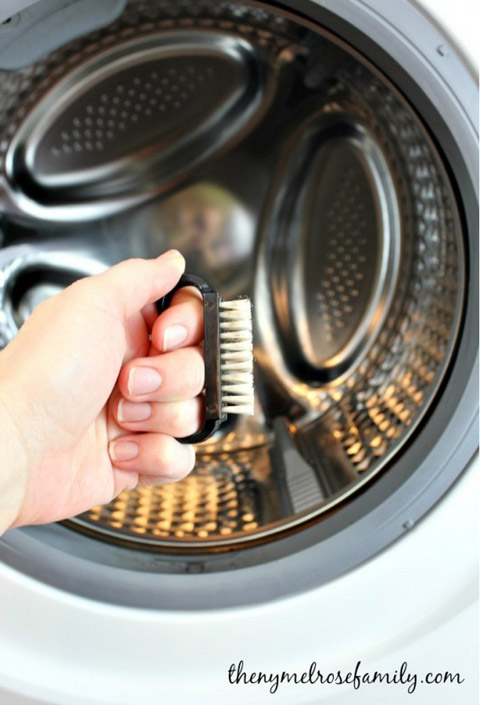 front load washer cleaning