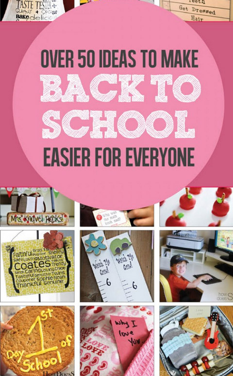 make back to school easier