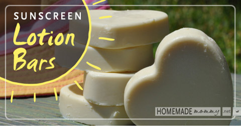 sunscreen lotion bars