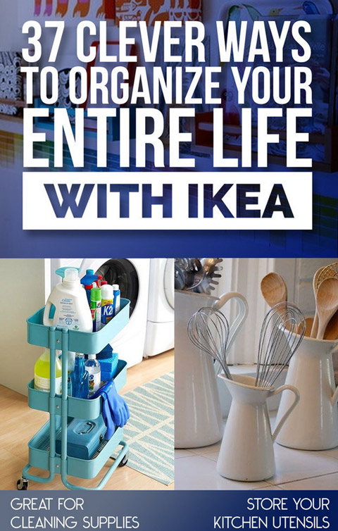 organize life with ikea