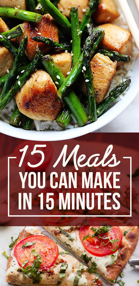 15 minute dinners