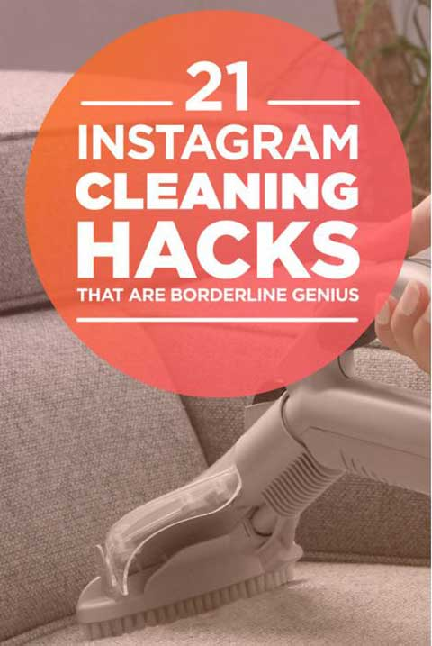 21 Instagram Cleaning Hacks