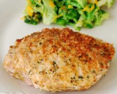 Parmesan Crusted Baked Pork Chops