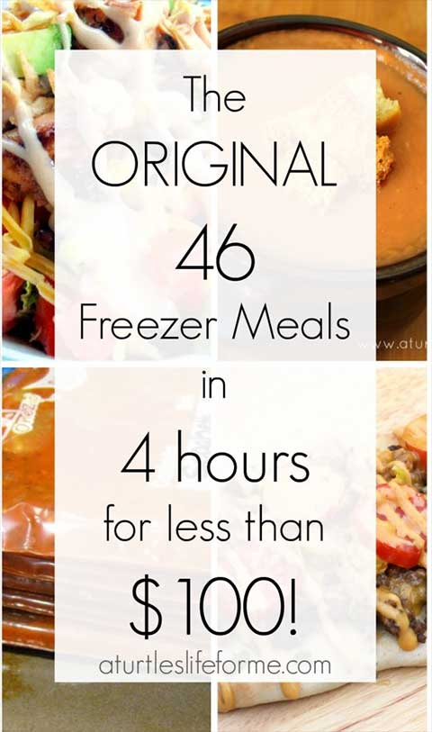 Freezer Meals on Cheap