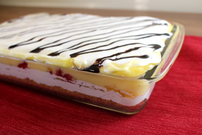 New Test Kitchen Creation: Banana Split Lasagna