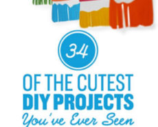 34 Of The Cutest DIY Projects