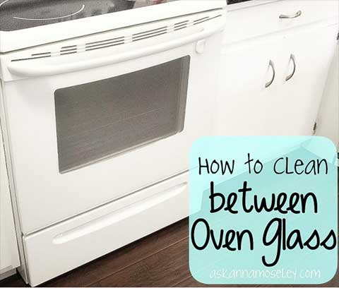 Clean Between Oven Window Glass