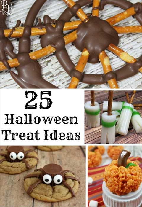 25 Fun Halloween Party Treat Ideas