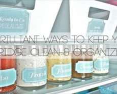 Keep Fridge Clean And Organized
