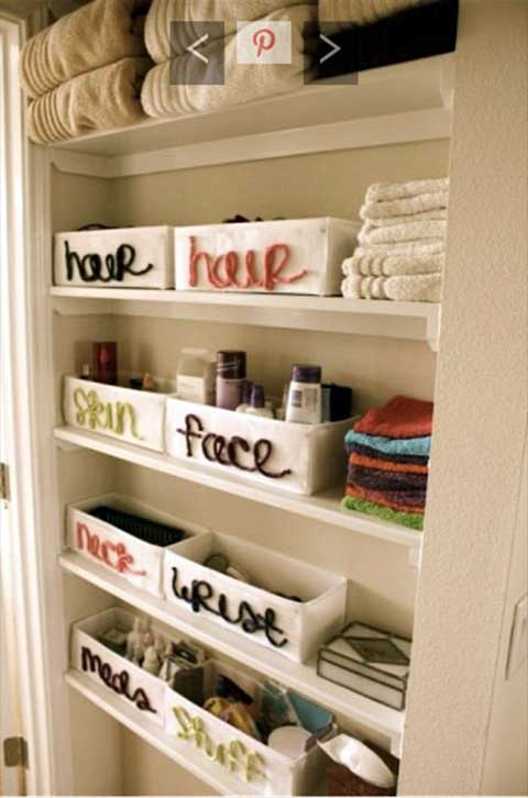 Space Storage Solutions for the Bathroom