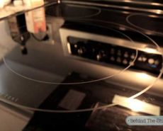 Home Made Cleaning DIY – how to clean your glass cooktop with baking soda