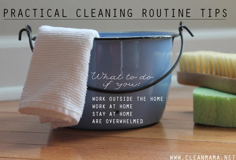 Practical Cleaning Routine Tips For Any Schedule