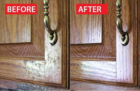 cleaning kitchen cabinet doors how to clean grease from kitchen cabinet doors 13620